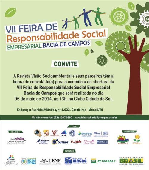 CONVITE VII FEIRA RSE