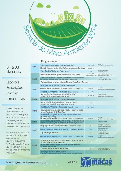 Cartaz Semana Meio Ambiente